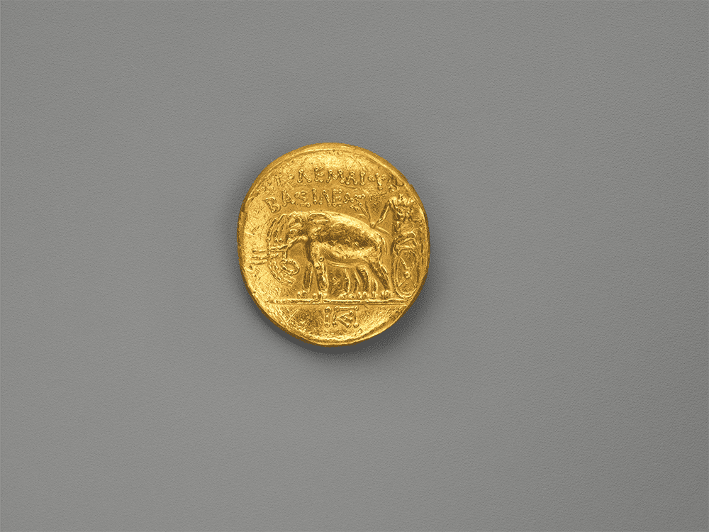 Gold stater of Ptolemy I
