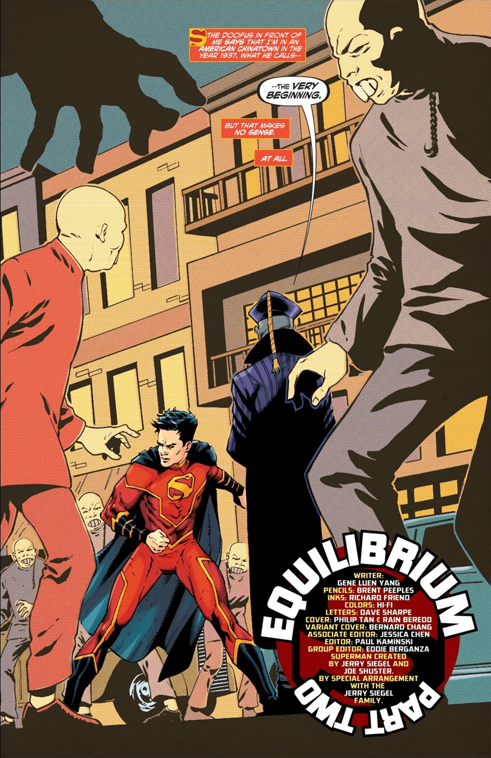 New Superman #16, first page