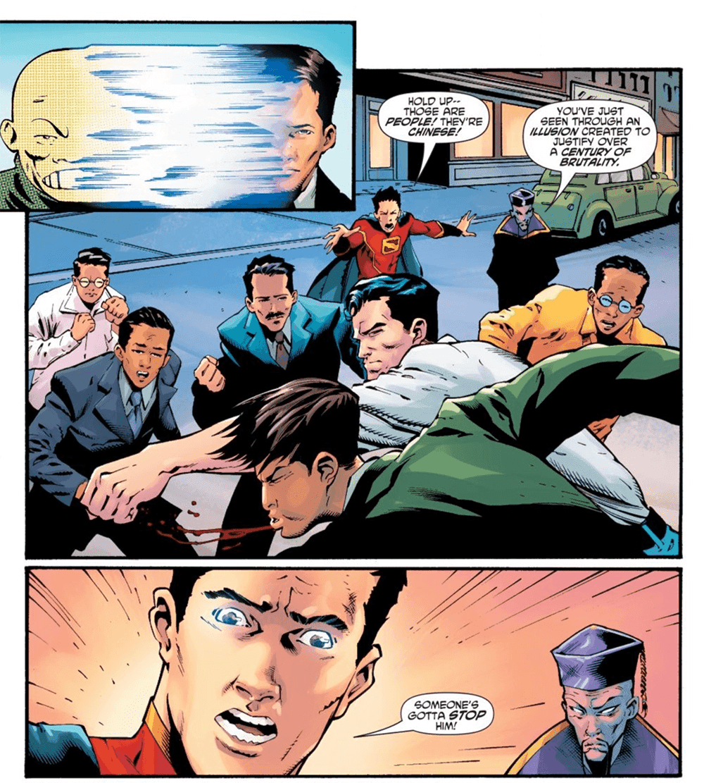 New Superman #16, fourth page
