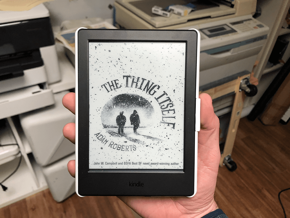 Pictures of Kindle editions are really... not as much fun